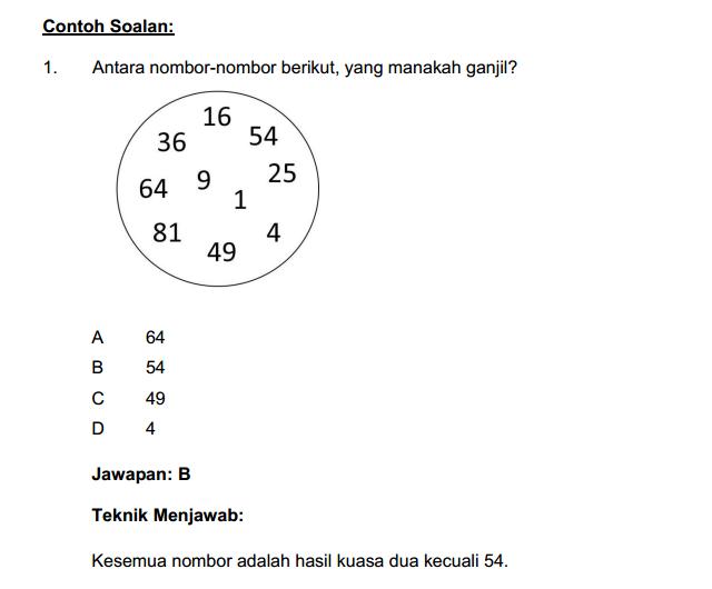 Soalan Matematik Penolong Pegawai Penerangan Gred S29